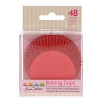 FunCakes Baking Cups Red -48st-