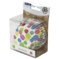 PME Foil Lined Baking Cups Balloons -30st-
