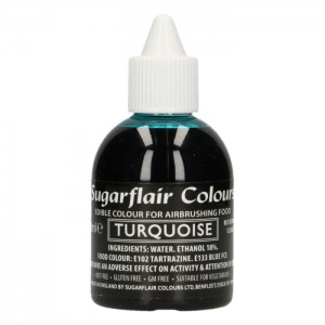 Sugarflair Airbrush Colouring Turquoise -60ml-