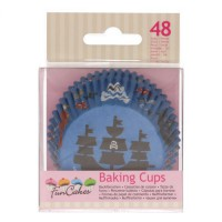 FunCakes Baking Cups Pirates -48st-