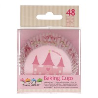 FunCakes Baking Cups Princess -48st-