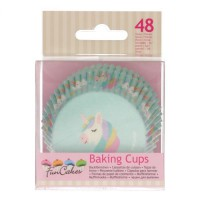 FunCakes Baking Cups Unicorn -48st-