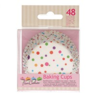 FunCakes Baking Cups Confetti -48st-