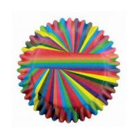 PME Baking Cups Snazzy Stripes -60st-