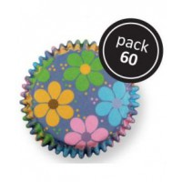 PME Baking Cups Flower Power -60st-