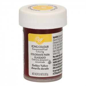 Wilton Icing Color Golden Yellow -28gr-