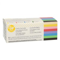 Wilton Icing Color Set -8x28gr-