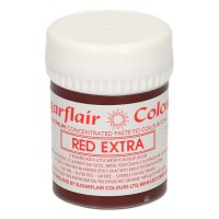 Sugarflair Max Concentrate Paste Colour Extra Red -42gr-