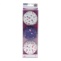 PME Baking Cups Watercolour Dots -60st-