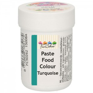 FunCakes FunColours Paste Food Colour Turquoise -30gr-