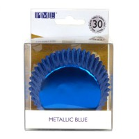 PME Baking Cups Metallic Blue- 30st-