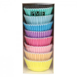 PME Baking Cups Pastel Colour -100st-