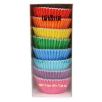 PME Baking Cups Rainbow Colour -100st-