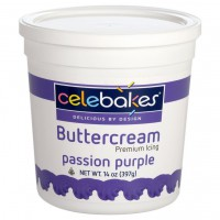 CK Celebakes Buttercream Icing Passion Purple -397gr-