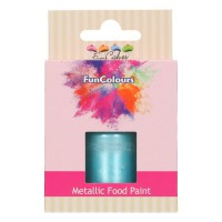 FunCakes FunColours Metallic Food Paint Baby Blue -30ml-