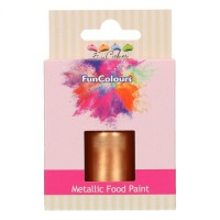 FunCakes FunColours Metallic Food Paint Copper -30ml-