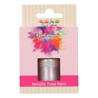 FunCakes FunColours Metallic Food Paint Lilac -30ml-