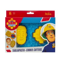Decora Cookie Cutter Set Brandweerman Sam 1 -2st-
