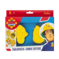 Decora Cookie Cutter Set Brandweerman Sam 2 -2st-