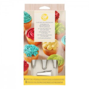 Wilton Cupcake Decoratie Set -12st-