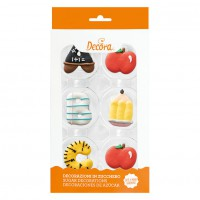 Decora Sugar Decoration Back to School -6st-