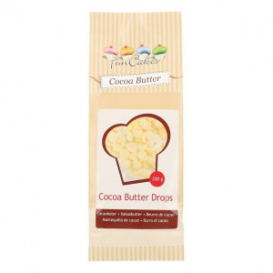 FunCakes Cacaoboter Drops -200gr-