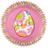Wilton Baking Cups Easter Garden -75st-