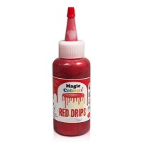 Magic Colours Edible Icing Drip Red -100gr-