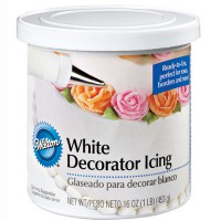 Wilton Decorator Icing White (450gr)