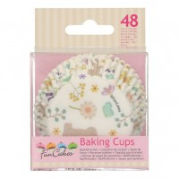 FunCakes Baking Cups Spring Animals -48st-