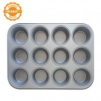 Decora Cupcake/Muffin Pan -12st-