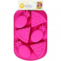 Wilton Silicone Mold Melon/Pineapple